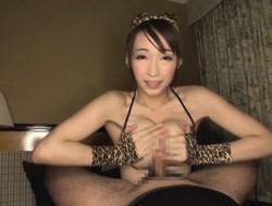 Consummate tits Japanese sex doll Kurea creampied and facialed