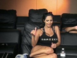 Exotic Alektra Blue with big ass having unbelievable lesbo sex with Gianna Nicole