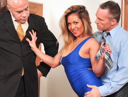 Marcus London in Tempted By The Boss Wife #05, Scene #02 - DevilsFilm