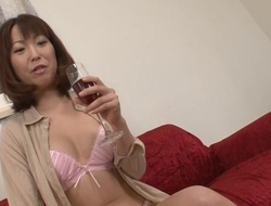 Enchanting Japanese is awfully wet from tenacious fucking