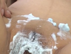 Asian pair gets filthy stripping and fingering constricted wet crack