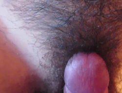 Joya hairy pussy rubbed