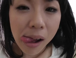 Japanese black hair abode wife
