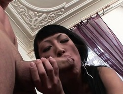 Horny Asian Secretary Has Anal Sex With Boss