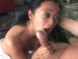Asian Lucky Starr makes Joey Silveras hard fuck stick vanish in her mouth in sexual ecstasy