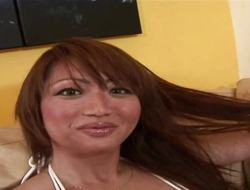RealAsianExposed Bigboobed Oriental babe is