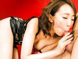 Incredible Japanese wench Aya Kisaki in Exotic JAV uncensored Blowjob video