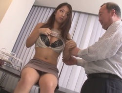 Japanese woman Satomi Suzuki with perfect natural boobs