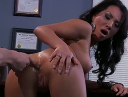 Oriental Asa Akira is an aanal doxy horny chap Mick Blue loves to fuck after this babe gives blowjob