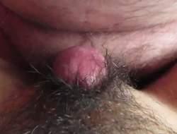 Reika hairy cum-hole rubbing