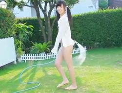 Jav Legal age teenager Beauty Debutante Gets Naked In The Garden Nubile Schoolgirl 18 Plus