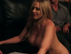 Rocco Reed gets fun from fucking Asian Julia Ann with phat a-hole and trimmed twat