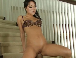 Asa Akira makes her sex dreams a come true