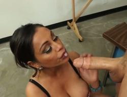 Chris Johnsonget deep sucked and drilled by horny teacher Priya Anjali Rai