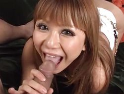 Kokoa Ayane amazes with sloppy blowjob and hard sex