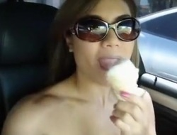Lascivious Livecam movie with Large Tits, Asian scenes