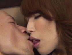 Top office honey Aya deals her boss in hardcore