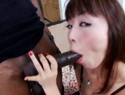 Marica Hase is worthy on her way to make horny dude explode on oral action