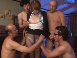 Japanese slut Hikaru Shiina gets face fucked