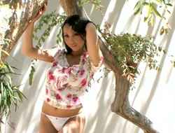 Katsuni - is one of the almost any beautiful of all Oriental girls in the adult business. Today that babe is going to prove us this fact again and to expose her sweetest parts for us.